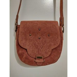 NWOT Roxy Cactus Station Crossbody Brown
